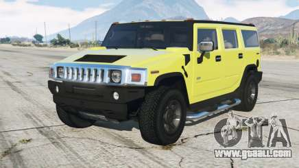 Hummer H2 200ⴝ for GTA 5