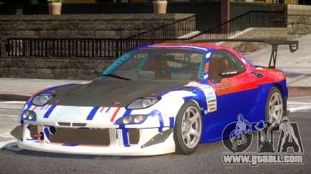 Mazda RX7 CPS PJ1 for GTA 4