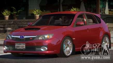 Subaru Impreza WRX STI R-Tuning for GTA 4