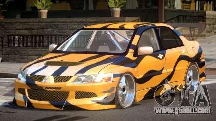 Mitsubishi Lancer Drift PJ9 for GTA 4