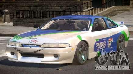 Nissan Silvia S14 Drift PJ10 for GTA 4