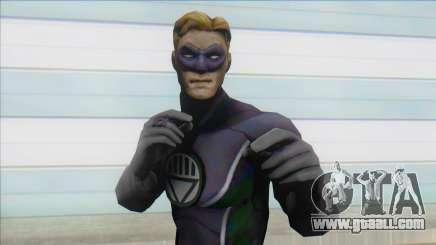 Black Lantern Hal Jordan for GTA San Andreas