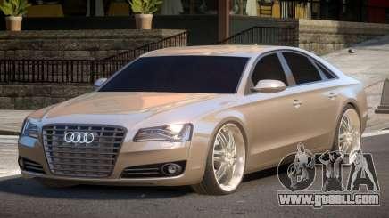 Audi A8 D4 for GTA 4