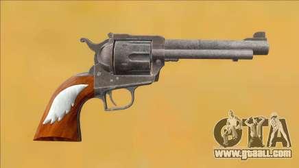 Resident Evil 2 Remake Ruger Blackhawk Magnum for GTA San Andreas