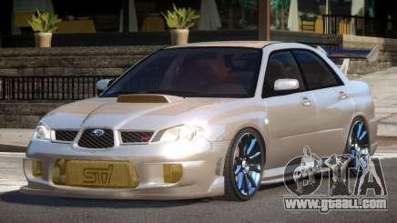 Subaru Impreza STI R-Tuned for GTA 4