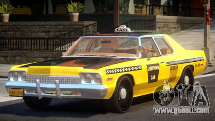 Dodge Monaco Taxi V1.1 for GTA 4