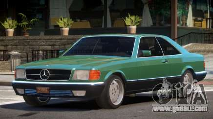 1991 Mercedes Benz W126 for GTA 4