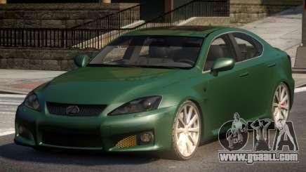 Lexus IS-F L-Tuned for GTA 4