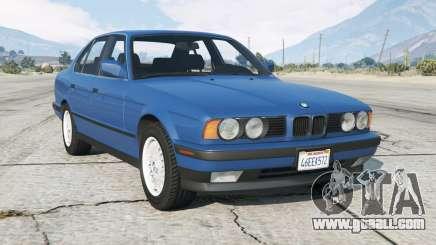 BMW 535i (E34) 1987 add-on for GTA 5