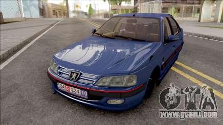 Peugeot Pars Blue for GTA San Andreas