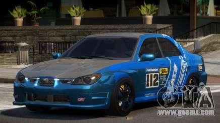 Subaru Impreza STI GS L4 for GTA 4
