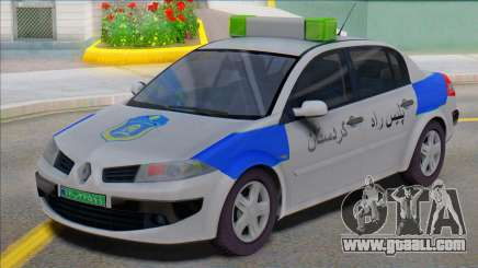 Renault Megane Police for GTA San Andreas