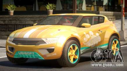 Lagoon Car from Trackmania 2 PJ6 for GTA 4