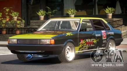 1985 Audi 80 B2 PJ2 for GTA 4