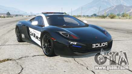 McLaren MP4-12C Hot Pursuit Police for GTA 5
