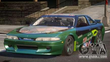 Nissan Silvia S14 Drift PJ2 for GTA 4