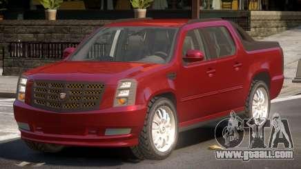 Cadillac Escalade Ext TR for GTA 4