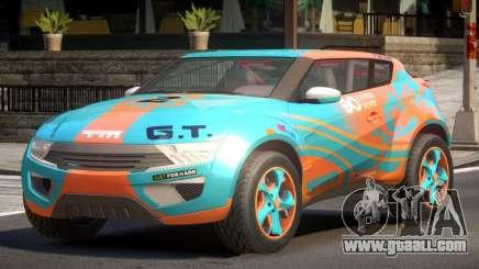 Lagoon Car from Trackmania 2 PJ8 for GTA 4