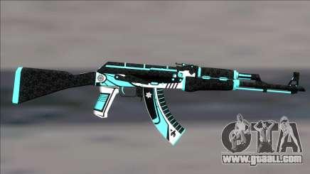 AK47 Monarch for GTA San Andreas