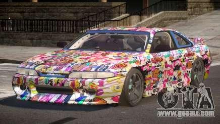 Nissan Silvia S14 Drift PJ5 for GTA 4
