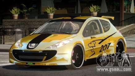 Peugeot 207 RT for GTA 4