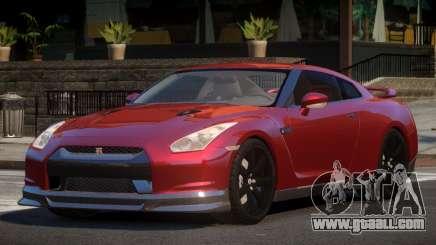 Nissan GTR PSI V1.0 for GTA 4