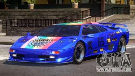 Lamborghini Diablo Super Veloce L1 for GTA 4