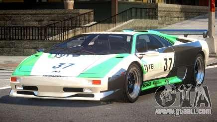 Lamborghini Diablo Super Veloce L5 for GTA 4