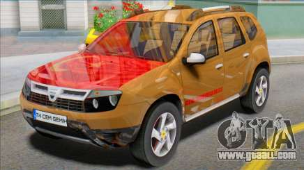 Dacia Duster 2014 Modu Türkiye for GTA San Andreas