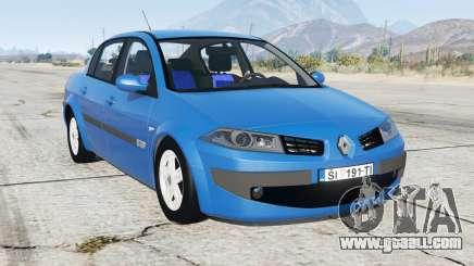 Renault Megane sedan 2009 for GTA 5