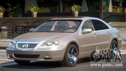 Acura RL SN for GTA 4