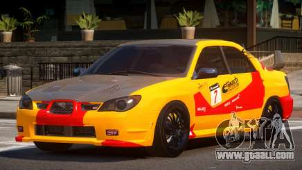 Subaru Impreza STI GS L2 for GTA 4