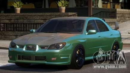 Subaru Impreza STI GS for GTA 4