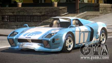 Island Car from Trackmania PJ1 for GTA 4