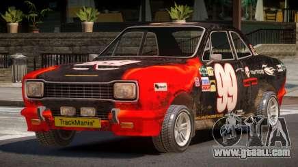 Desert Car from Trackmania PJ6 for GTA 4