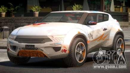 Lagoon Car from Trackmania 2 PJ12 for GTA 4