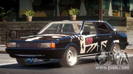 1985 Audi 80 B2 PJ1 for GTA 4