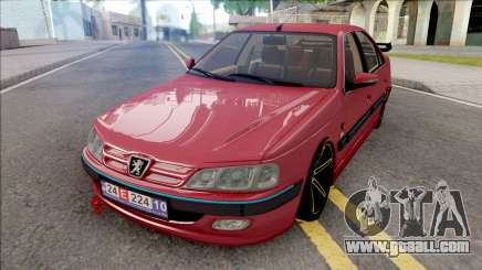 Peugeot Pars Red for GTA San Andreas