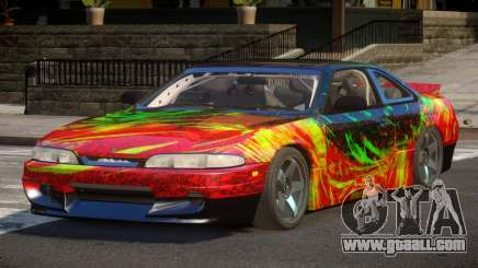 Nissan Silvia S14 Drift PJ3 for GTA 4