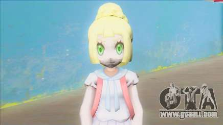 Pokemon Sun and Moon Lillie Z Powered Form for GTA San Andreas