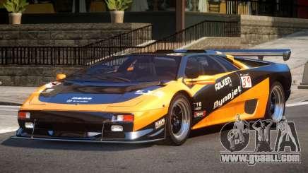 Lamborghini Diablo Super Veloce L9 for GTA 4