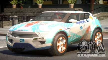Lagoon Car from Trackmania 2 PJ5 for GTA 4