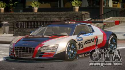 2010 Audi R8 LMS PJ10 for GTA 4