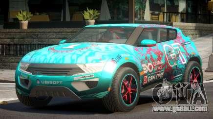 Lagoon Car from Trackmania 2 PJ7 for GTA 4