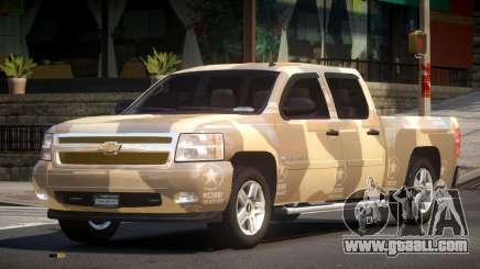 Chevrolet Silverado GST 1500 L2 for GTA 4