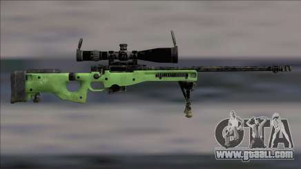 L96 Sniper Rifle V2 for GTA San Andreas