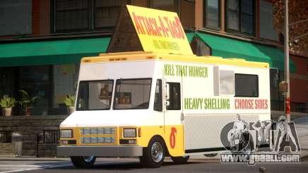 Brute Taco Van for GTA 4