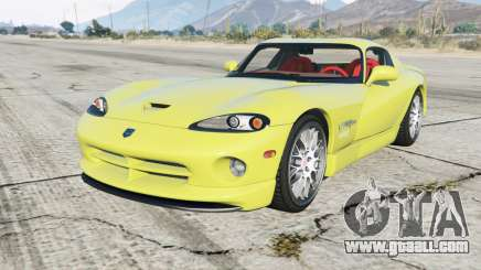 Dodge Viper GTS ACR 1999 for GTA 5