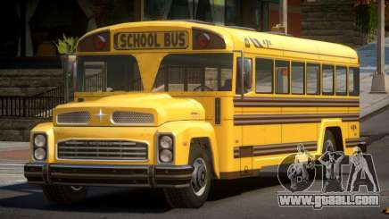 School Bus from FlatOut 2 for GTA 4