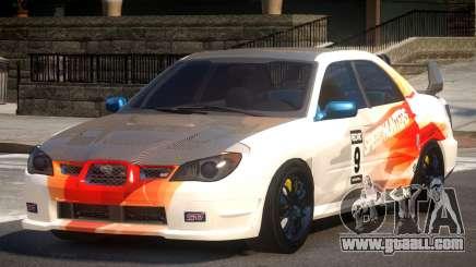 Subaru Impreza STI GS L10 for GTA 4